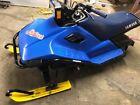 Very Very Rare  Team Blue YAMAHA SNOSCOOT SV-80 Snowmobile Plastic Ski's SLED!