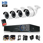 4x 2560x1440p CCTV Cameras 4CH 4MP AHD HDMI DVR Home Video Security System 2TB