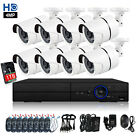 4.0MP 8CH DVR CCTV Home 1440P Security Camera System Surveillance Kit 1TB HD IR