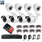 8CH 4MP HDMI AHD DVR 1440p Home Security Camera CCTV System 1TB IR night vision