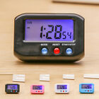 "2.7""Small LCD Digital Time & Date Alarm Clock Stop Snooze Night Light Kitchen"