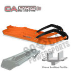 C&A PRO Boondocking Extreme (BX) Skis ORANGE Arctic Cat ZL 800 ESR (2001)