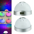 Magic Starry Digital LED Projection-Alarm Clock Color Changing Night Lights