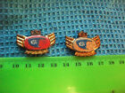 Lot of 2 NSU  Motorcycle very old lapel,hat pin badges