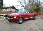 1967 Ford Mustang 289 AUTO CONVERTIBLE 1967 MUSTANG CONVERTIBLE C-CODE 289 AUTO SOLID STRAIGHT BEAUTIFUL CANDYAPPLE RED
