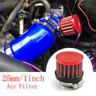 Universal Car Trucks,Motorcycle Mini Air Filter Clamp-On Intake Cold Air Filter