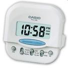 Casio Original Small Travel-Table Digital Alarm Clock PQ-30B-7 White PQ30