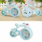 1Pc Bicycle Alarm Clock Unique Cute Cartoon Horologe for Office Home Coffee Shop