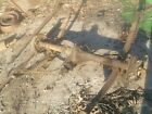 OLD ENGLISH FORD PANEL VAN REAR END AND LEAF SPRINGS