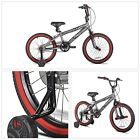 BMX BIKE 18 In. Front Pegs Steel Frame 4 Bolt Stem Steel Rims Plastic Pedals New