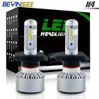 9003 LED Headlight For Yamaha ET340 Enticer 340 85-88 Hi/Low Beam H4 White Bulbs