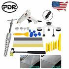 PDR Glue Gun Slide Hammer Tap Down Car Paintless Dent Removal Repair Tools Kit