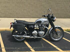 2018 Triumph BONNEVILLE T-120 BONNEVILLE T-120 2018 TRIUMPH BONNEVILLE T-120 Low Miles 1200cc SILVER