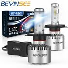 9003 LED Headlight For Yamaha SXV700ER SX Viper ER 2002-2004 Hi/Lo Beam H4 Bulbs