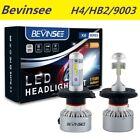 H4 9003 HB2 For Ski-Doo Tundra R 1998-2005 LED Snowmobile Headlight Hi/Low Beam