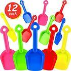 Sand Shovel Plastic Beach Scoop Set For 7.7 Inches Multi-Color (12 Pieces) Toys
