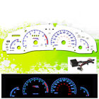 REVERSE INDIGLO GLOW GAUGE FACE 96-98 PONTIAC GRAND AM DASH CLUSTER AT/MT