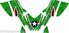 Arctic Cat M7 M8 M1000 Crossfire 2005 - 2011 Graphics Decal kit Aircraft Jaws GR