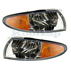 97-03 Grand Prix Park Corner Light Turn Signal Marker Lamp Right & Left Set PAIR