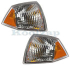 07-10 Compass Corner Park Light Turn Signal Side Marker Lamp Left Right Set PAIR