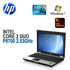 "HP Compaq 6930p Laptop 14"" LCD/Intel C2D P8700 2.53/4GB/160G/DVD-RW/Win 7 Pro"