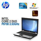 "HP Compaq 6930p Laptop 14"" LCD/Intel C2D P8700 2.53/4GB/80G/DVD-RW/Win 7 Pro"