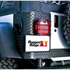 11226.01 Black Taillight Guards Jeep Wrangler TJ YJ CJ