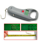 Portable Electronic Balance Scale Digital Weigher Max 45kg/10g W/ Steel Tapeline