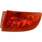 Fits 04-06  3 SEDAN RT PASS TAIL LAMP ASSEMBLY QUARTER MOUNTED,RED LENS