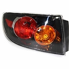 Fits 04-06  3 SEDAN LEFT DRIVER TAIL LAMP ASSEMBLY W/CLEAR LENS