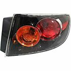 Fits 04-06  3 SEDAN RIGHT PASSENGER TAIL LAMP ASSEMBLY, CLEAR LENS