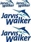 JARVIS WALKER - DECAL SET OF 4 - BOAT DECALS