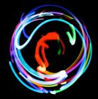 * 4 LED Orbit * Light Show Orbital. Microlight Orbital 7 Color Changing Lights