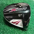 CALLAWAY X HOT 13.5* HT MENS RIGHT HANDED DRIVER HEAD ONLY!!! VERY GOOD!!!