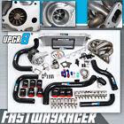 Civic EG D15 D16 T3 T3/T4 Turbo Kit Keep AC and Power Steering Ram Horn Manifold