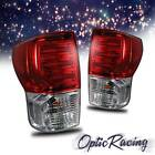 For 07-2013 TUNDRA L.E.D TAIL LIGHTS LED LAMPS RED PAIR LH+RH NEW