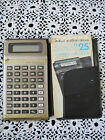 Calculator Student Business Analyst Vintage Needs Battery w Case