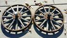 "Model T Ford 21"" Wood Wooden Spoke Wheels Matching Set"