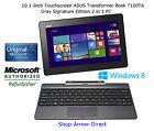 Touchscreen ASUS Transformer Book T100TA Tablet/Notebook (w/Dock*)+64GB SSD+Win8