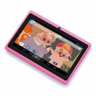 "New 8GB 7"" Pink Quad Core Kids Tablet PC Android 4.4 KitKat Tablet For Kids WIFI"