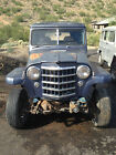 Willys : Pickup n/a 1956 WILLYS Pickup ARIZONA TRUCK, Solid Body and Frame, Willy, Jeep, Project 56