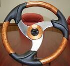 Schmitt Stella Folletto Black with Bronze metallic insert Boat Steering Wheel