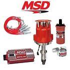 MSD 9006 Ignition Kit - Digital 6AL/Distributor/Wires/Coil/Bracket - Pontiac V8