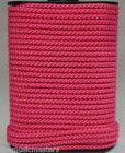 "PINK Double Braided 1/8"" x 45' HQ Marine Boat UTILITY ROPE Line Tie Down Cord"