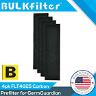 Carbon Activated PRE-FILTER 4-Pack for GermGuardian Filter B By BulkFilter Brand