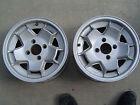 Vintage Cheviot alloy aluminum mag wheels fit Alfa Romeo gtv,berlina,spider