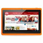 """Orange 8GB 7"""" Android 4.4 Tablet PC for Kids Children A33 Quad Core Kid MID WiFi"""