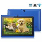 """Blue 8GB 7"""" Android 4.4 Tablet PC for Kids Children A33 Quad Core Kid MID WiFi"""