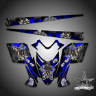 Polaris IQ RMK Shift Dragon Graphics Decal Wrap 05-12 with Tunnel Outlaw Blue