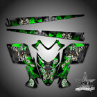 Polaris IQ RMK Shift Dragon Graphics Decal Wrap 05-12 with Tunnel Outlaw Green